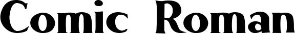 Comic Roman Font