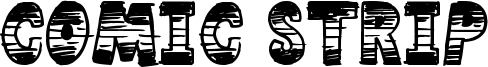 Comic Strip Font