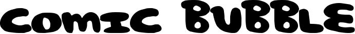 Comic Bubble Font