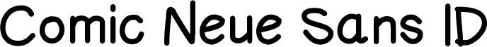 Comic Neue Sans ID Font