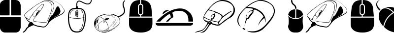 Computer Mouse Font