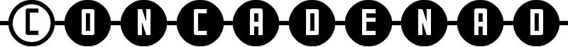 Concadenado ST Font