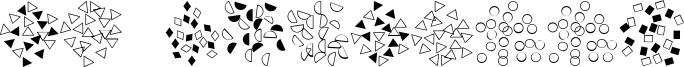 FE Confetti Font