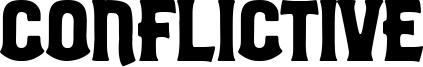 Conflictive Font