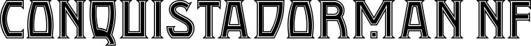 Conquistadorman NF Font