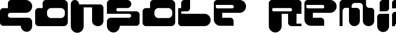Console Remix Font