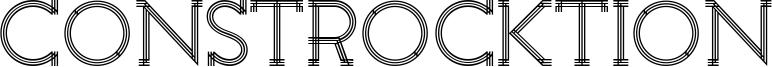 Constrocktion Font