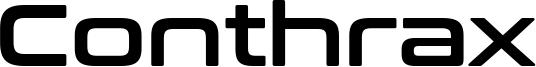 Conthrax Font
