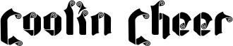 Coolin Cheer Font
