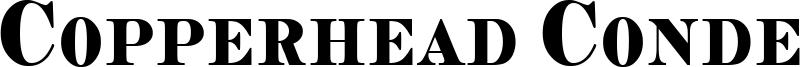 Copperhead Condensed Font