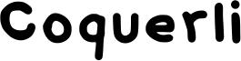 Coquerli Font