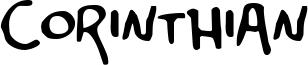 Corinthian Font