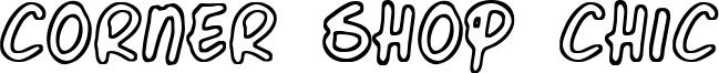 Corner Shop Chic Font