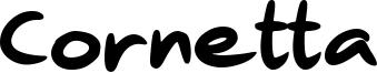 Cornetta Font