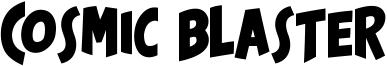 Cosmic Blaster Font
