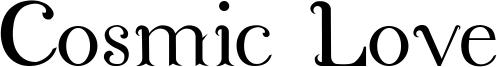 Cosmic Love Font