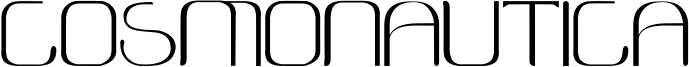 Cosmonautica Font