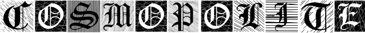 Cosmopolite Font