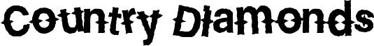 Country Diamonds Font