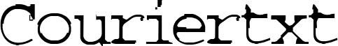 Couriertxt Font