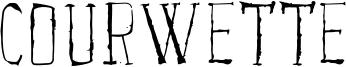 Courwette Font