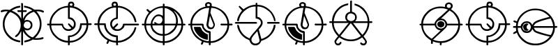 Covenant / Forerunner Font