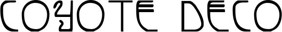 Coyote Deco Font