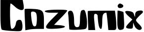 Cozumix Font