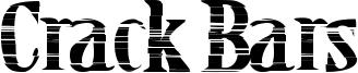Crack Bars Font