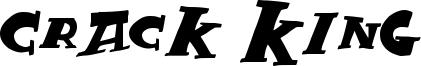 Crack King Font