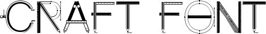 Craft Font Font