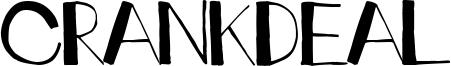 Crankdeal Font