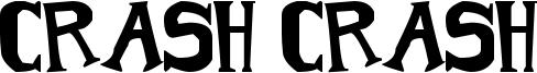 Crash Crash Font