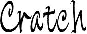 Cratch Font