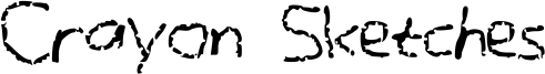 Crayon Sketches Font