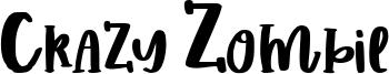 Crazy Zombie Font