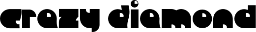 Crazy Diamond Font