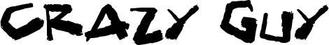 Crazy Guy Font