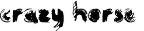 Crazy Horse  Font