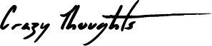 Crazy Thoughts Font