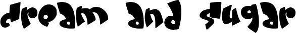 Cream and sugar Font