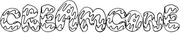 CreamCone Font