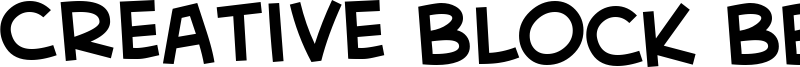 Creative Block BB Font