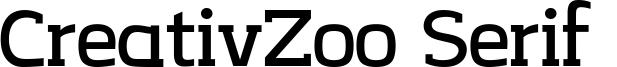 CreativZoo Serif  Font