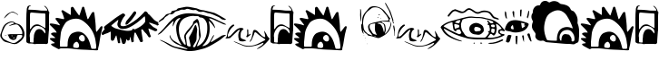 Creature Builder Font