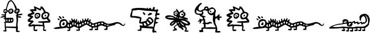Creatures Font