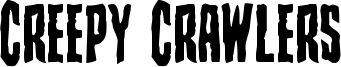 Creepy Crawlers Font