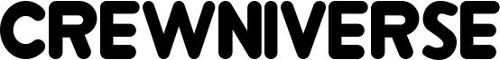 Crewniverse Font
