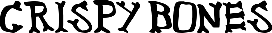 Crispy Bones Font
