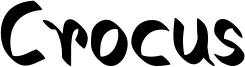 Crocus.otf